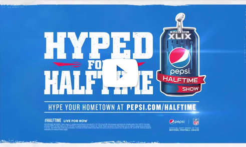 Pepsi Hyped for Halftime thumbnail